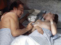 Adriana Asti et Ugo Tognazzi dans La faille, 1975.
