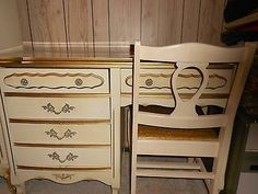 Details About Bett French Provincial Vintage Complete Bedroom Set 6 Pieces