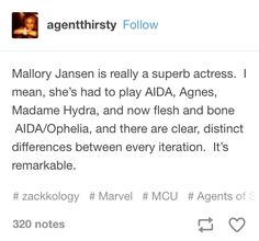 Mallory is a superb actress! And shes Madelyn from gallivant