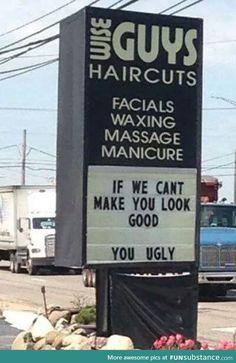 Wise guys haircuts