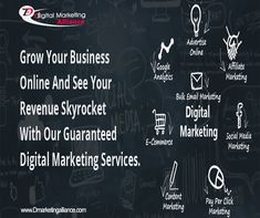 Grow your Business online and see your revenue skyrocket with our guaranteed Digital Marketing Services. Seo Marketing, Digital Marketing Services, Content Marketing, Affiliate Marketing, Online Marketing, Social Media Marketing, Pay Per Click Marketing, Seo Tips, Growing Your Business