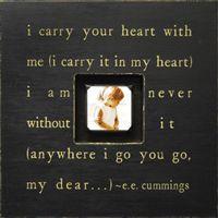 I Carry Your Heart Photobox
