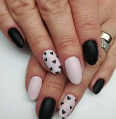40515329472_0d64607d39_o +77 BLACK AND WHITE NAILS PHOTOS 2018 Nail Art white photos nails Gel Nail Designs 2018 black 2018