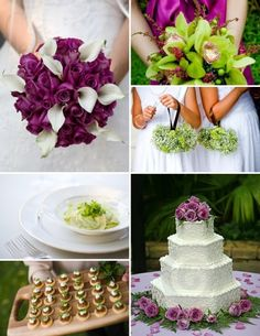 Top right purple/pink color & lime green. Love those two colors together. Those colors are it!