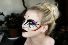 inspired facepainting :) Special Effects, Carnival, Halloween Face Makeup, Make Up, Inspired, Artist, Inspiration, Biblical Inspiration, Carnavals