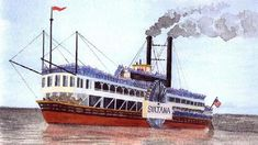 tackling the mystery of the ss sultana image (my gr grandfather was on this  boat)