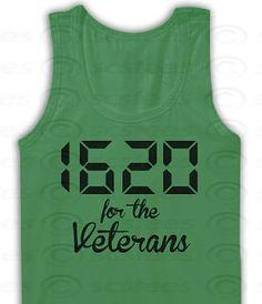 1620 for the Veterans Tank Top, Veterans, 420, Marijuana Shirt, Weed, Pot, Mary Jane item 018