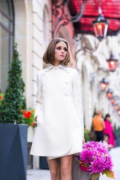 gorgeous white coat // OP