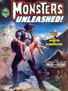 Monsters Unleashed #2 - Boris Vallejo