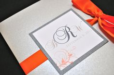 WEDDING BOOKLET PROGRAMS by JaxDesigns27 on Etsy  #weddings #weddingprograms
