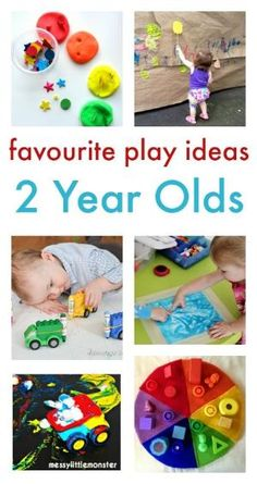 fun and easy play ideas for two year olds :: toddler play :: toddler activities by iris-flower
