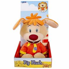 Pip Ahoy 12-Inch Talking Pip Plush Toy