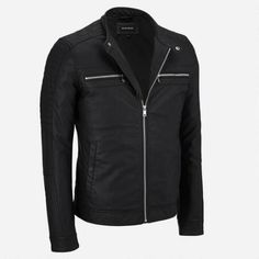 Big & Tall Black Rivet Faux-Leather Jacket w/ Quilted Shoulders $62.50                      Our Price Now:                                           $250.00                      Comp Value Was:
