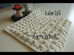 Iedereen kan haken© Golfjes steek - Blanket stitch leren haken Nederlands voor beginners © - YouTube