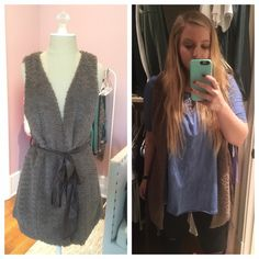 Furry vest! Can be worn multiple ways. Love this piece! Forever 21 Other