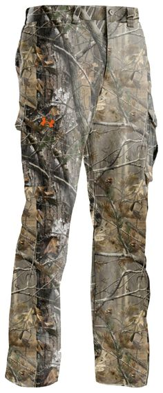 Under Armour® Lightweight Performance Field Pants II for Men   Bass Pro Shops // These pants feature durable, lightweight 100% polyester ripstop fabric in a loose fit. #menshuntinggear #menscamo #camopants #underarmourhunt