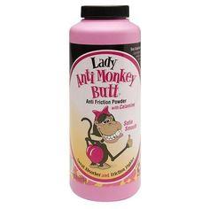 Anti Monkey Butt Lady Anti Friction Powder with Calamine - 6 oz.