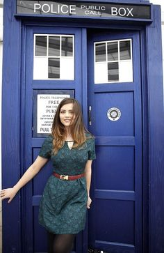Doctor Who photo exclusive - Jenna-Louise Coleman as the new companion   Radio Times