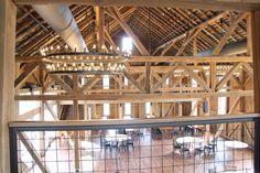 Wyndridge Farm events: Down from the balcony.
