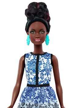 In June 2015, the line expanded its range to include a wider array of skin tones & a greater variety of ethnicities. | Barbie's New Collection Has Curvy, Petite & Tall Dolls
