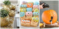 We scoured millions of ideas on Pinterest so you don't have to. Halloween Treats For Kids, Trendy Halloween, Homemade Halloween, Halloween Activities, Diy Halloween Decorations, Halloween Gifts, Fall Halloween, Halloween Stuff, Pinterest Halloween Ideas