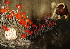 flowers by *moonywolf on deviantART