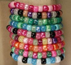 All About Alphabet Beads - Project Ideas: Pony Bead Friendship Bracelets