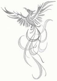 A Phoenix rising from the ashes is always good