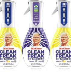 (This is an affiliate pin) Mr Clean Cleaning Multi Surface Lavender