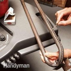 How to Tune Up Your Outdoor Gas Grill: Clean up the grill for easier starting and better cooking just in time for #FathersDay. Get the how-to: http://www.familyhandyman.com/grills/how-to-tune-up-your-outdoor-gas-grill/view-all