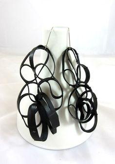 reycled rubber earrings (1).JPG