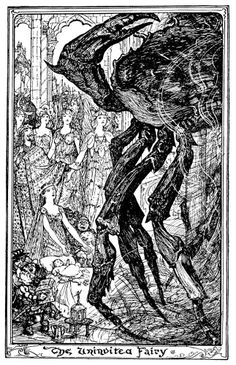 'The Orange Fairy Book' by Andrew Lang; illustrated by H. J. Ford. Published 1906 by Longmanns, Green & Co., London.