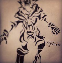 My #drawing of #Kora. #art #sketch #KingdomHearts #Disney #tribal