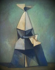 Figure of a Nun  No 1 Duilio Barnabe via paintingvintage. Click on the image to see more!