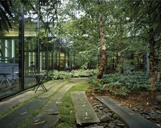 20110203-Tahari-Courtyards-by-Michael-Van-Valkenburgh-Associates « Landscape Architecture Works | Landezine