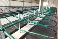 New installation of EasyFix Green Cubicles with rubber loops in Nenagh, Co. Tipperary.