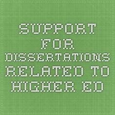 Air research and dissertation grants