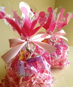 Princess Party Favors - Pink Theme