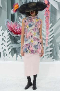 Chanel Spring 2015 couture. red carpet prediction: keira knightley