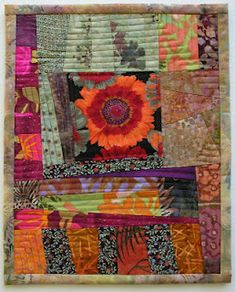 """HOW SMALL IS A SCRAP? ***Love this, she tells how to create """"new"""" fabric from those tiny scraps! From:15 minutes play...BumbleBeans Inc."""