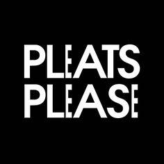 Pleats Please, Issey Miyake