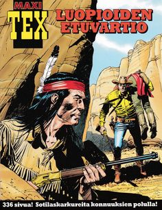 Maxi-Tex 29: Luopioiden etuvartio. #egmont #sarjakuva #sarjis #tex #willer
