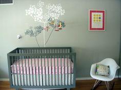 Color ideas nursery wall decor