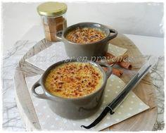 Crème catalane canelle & vanille