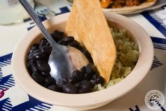 image of Rice and beans from Tacombi at Fonda Nolita in NYC, New York