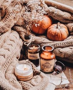 Autumn - Fall colors and foods on We Heart It