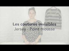 Faites de belles coutures sur vos tricots ! - YouTube
