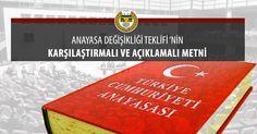 Türkiye Barolar Birliği Tarafından Hazırlanan Anayasa Değişikliği Teklifi'nin Karşılaştırmalı ve Açıklamalı Metni