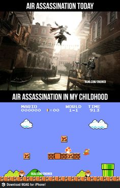 Air Assassinations. I've been conditioned for assassin's creed ever since I was little <3