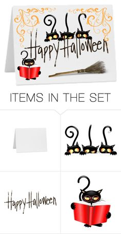 """""""Happy Halloween"""" by xoxmammaxox ❤ liked on Polyvore featuring art"""